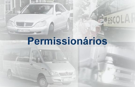 Atendimento/Serviços para Táxi, Escolar, Lotação e Caminhão de Aluguel (Permissionário)