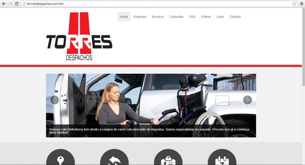 Website Responsivo - Monitor de Computador