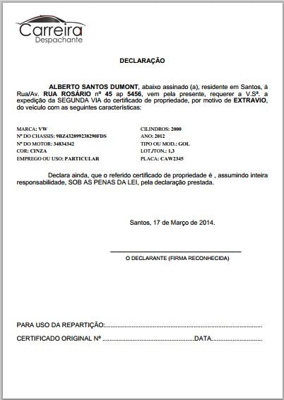 Despnet – Módulo: Catálogo de Serviços (Tutorial) - Detalhes do requerimento gerado.