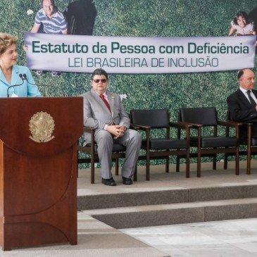 Estatuto da Pessoa com Deficiência | Sanção da Lei Brasileira de Inclusão