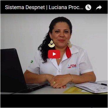 Depoimento sobre o Sistema Despnet   Luciana Procópio - Ativa Isenções