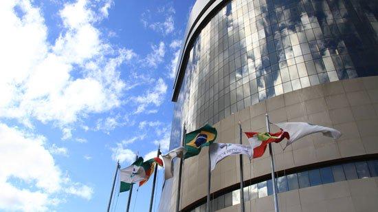 Fachada do Tribunal Regional Federal da 4ª Região. Foto: Divulgação
