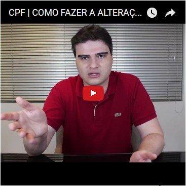 CPF   Como Fazer a Alteração de Dados Cadastrais