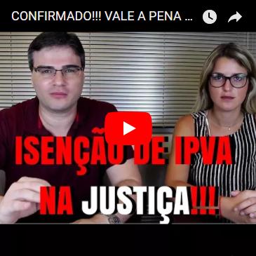 Confirmado: Isenção de IPVA é mantida na Justiça