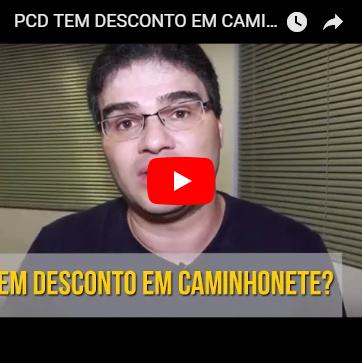 O Público PCD tem Desconto em Caminhonete?