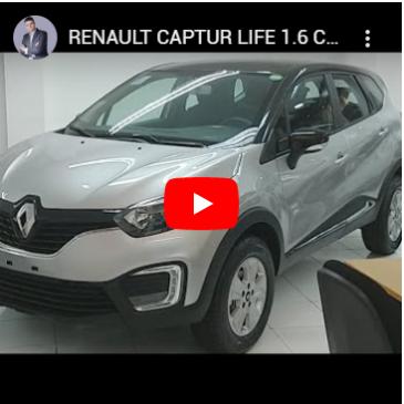 Dica Carro PCD | CAPTUR LIFE 1.6 CVT