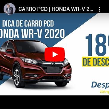 Dica Carro PCD   Honda WR – V 2020