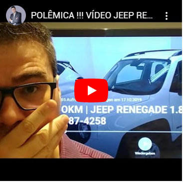 Carro PcD | Polêmica Vídeo JEEP Renegade PCD