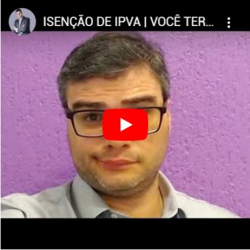 Isenção de IPVA | Você Terá Que Pagar Proporcional