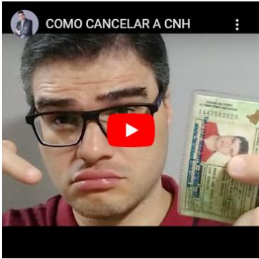 Como Cancelar a CNH