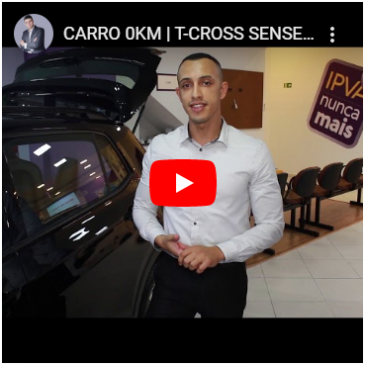 Carro PcD | T- Cross Sense 200 TSI