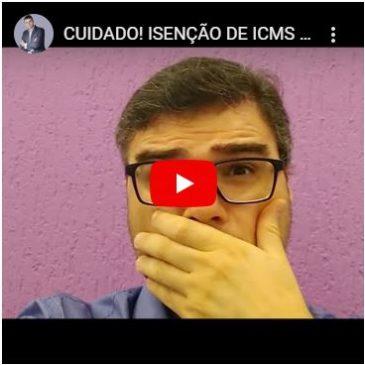 Cuidado! Isenção de ICMS de 2 para 4 Anos Na Canetada