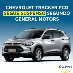 Chevrolet Tracker sofre pressões para voltar no mercado PCD