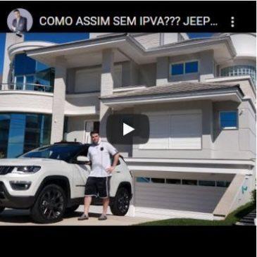 Como Assim Sem IPVA??? Jeep Compass Série S PCD Zero!!!