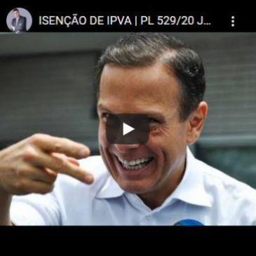 Isenção de IPVA | PL 529/20 Já Virou Lei!!!🚨 Teve Vetos!!! 🚨
