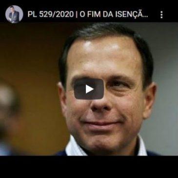 PL 529/2020 | O Fim da Isenção do IPVA!
