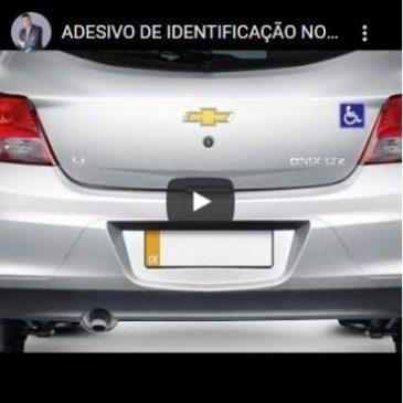 Adesivo de Identificação no Carro PCD Pode Se Tornar Obrigatório