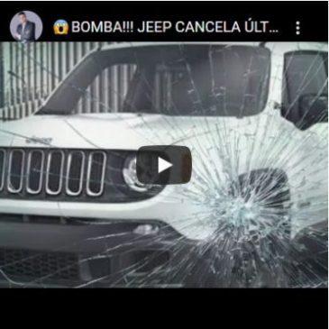 Bomba!!! Jeep Cancela Últimos Pedidos Do Renegade PCD