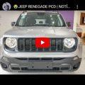Jeep Renegade PCD | Notícia de Cortar o Coração…
