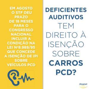 Deficientes Auditivos e a Luta para Obter Isenção sobre Carros PCD