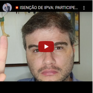 Isenção de IPVA: Participe da Ação Coletiva! (13) 99622-5721