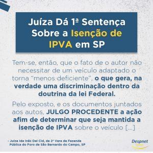 Isenção de IPVA