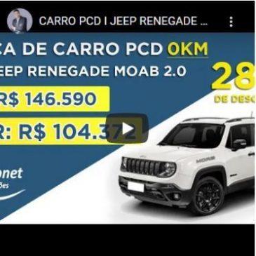 Carro PCD: Jeep Traz Novidades Para Renegade e Compass