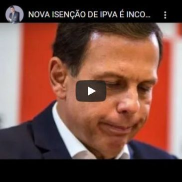 Isenção de IPVA: TJSP Indeferiu Liminar do PSB