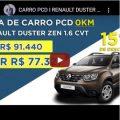 Renault Duster Apenas Com Isenção de IPI